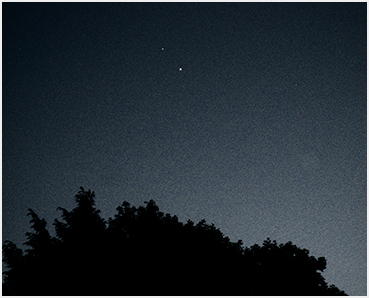 Venus and Jupiter.